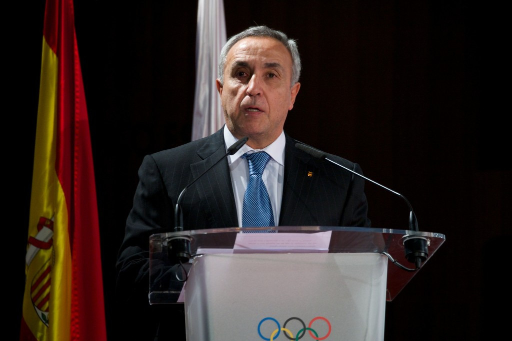 Spanish Olympic Committee President Alejandro Blanco was another fierce critic today ©Getty Images