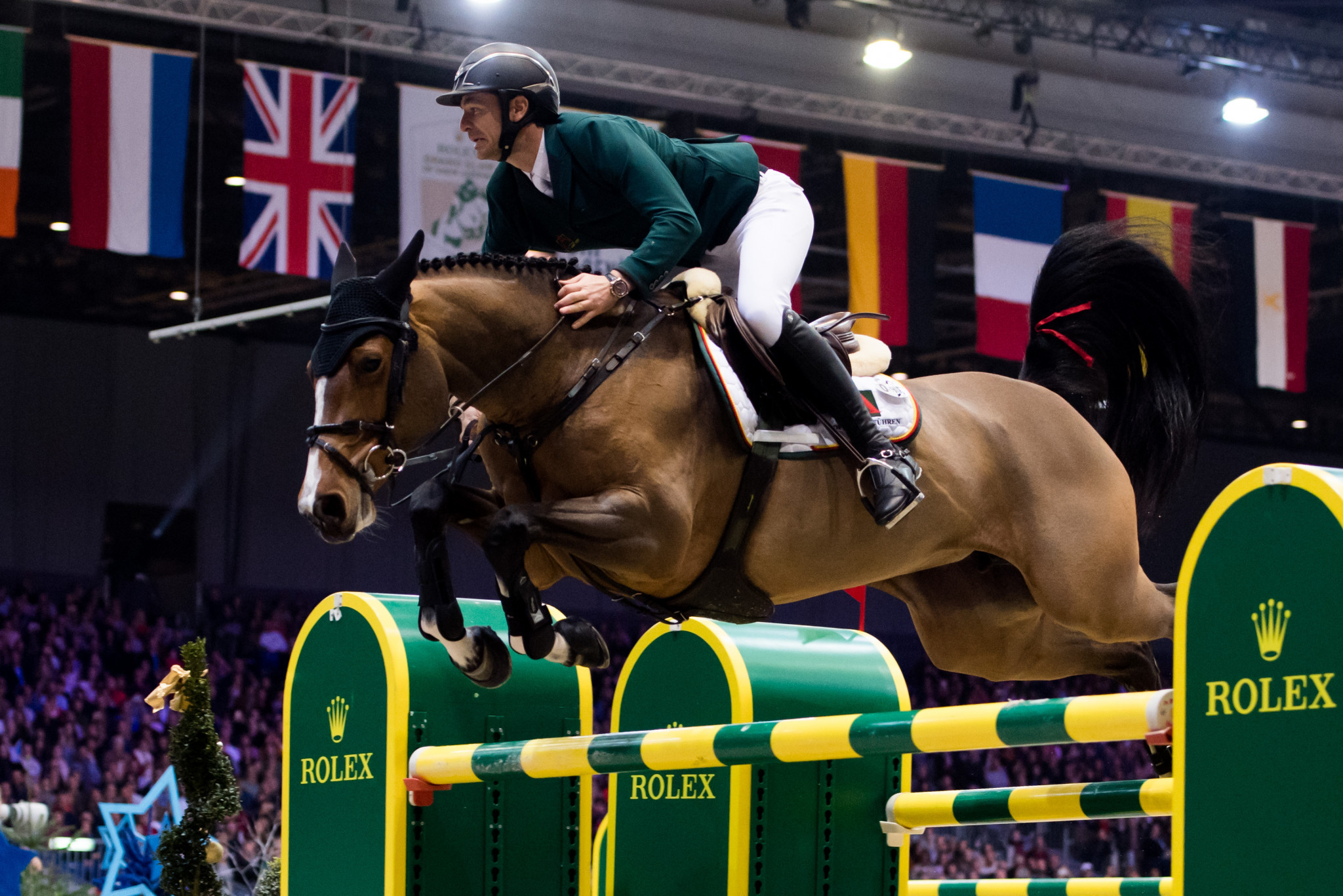 World number one Guerdat to compete in front of home crowd at FEI Jumping World Cup leg in Basel