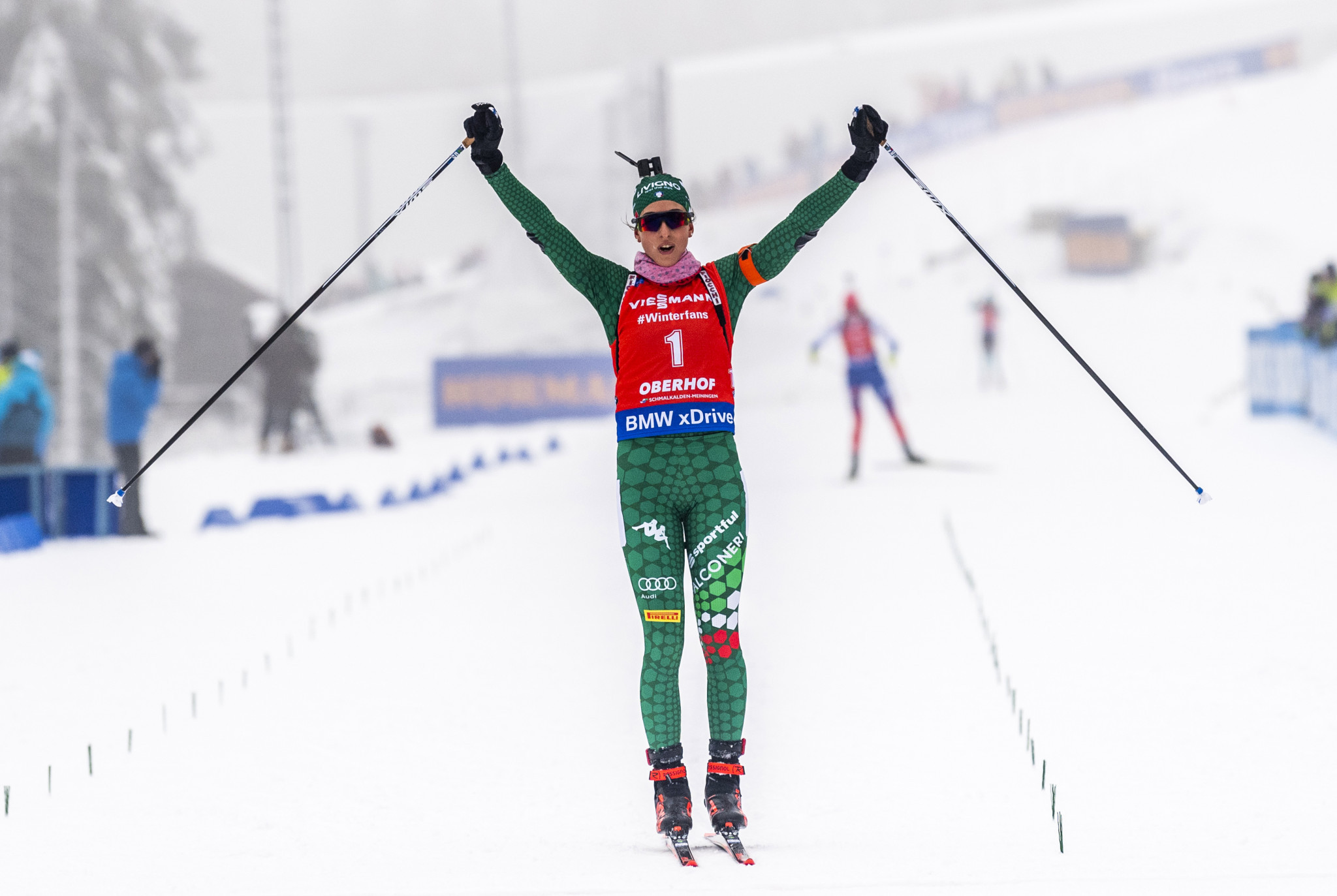 Vitozzi claims second IBU World Cup win in three days in Oberhof