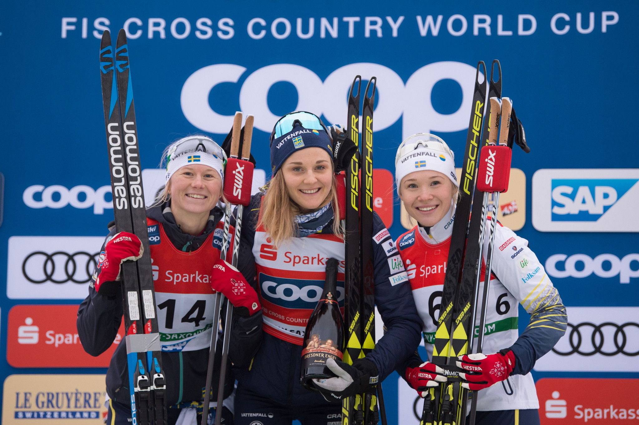 Nilsson maintains sprint dominance with FIS Cross Country World Cup win in Dresden