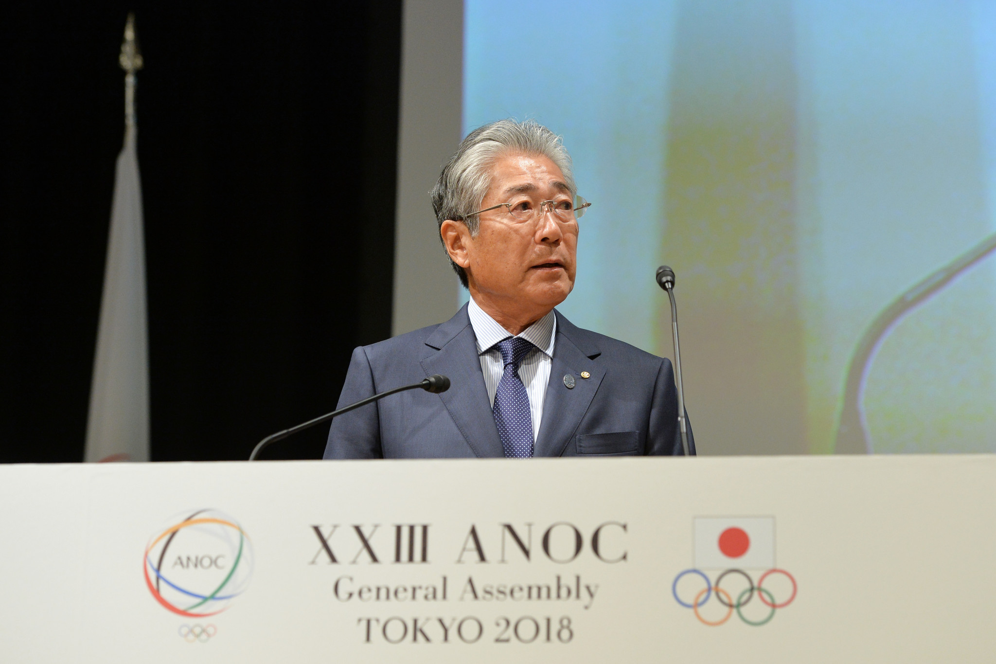 JOC President Tsunekazu Takeda is subject to a formal investigation from French prosecutors ©Getty Images
