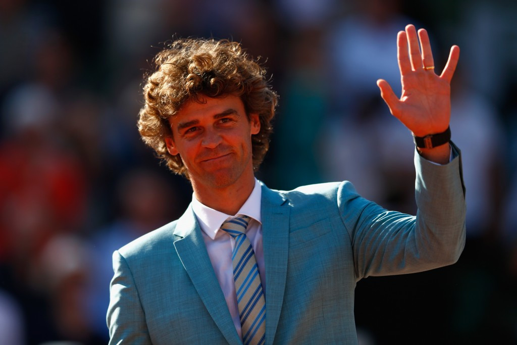 Three-time French Open tennis champion Gustavo Kuerten has been named an ambassador of the Brazilian Paralympic Committee ©Getty Images