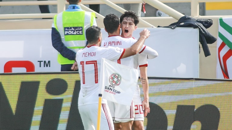 Iran beat Vietnam 2-0 today to seal their place in the round of 16 at the AFC Asian Cup in the United Arab Emirates ©AFC