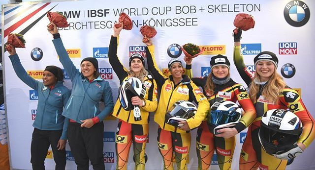 Two European Championship gold medals for Germany at IBSF World Cup in Königssee
