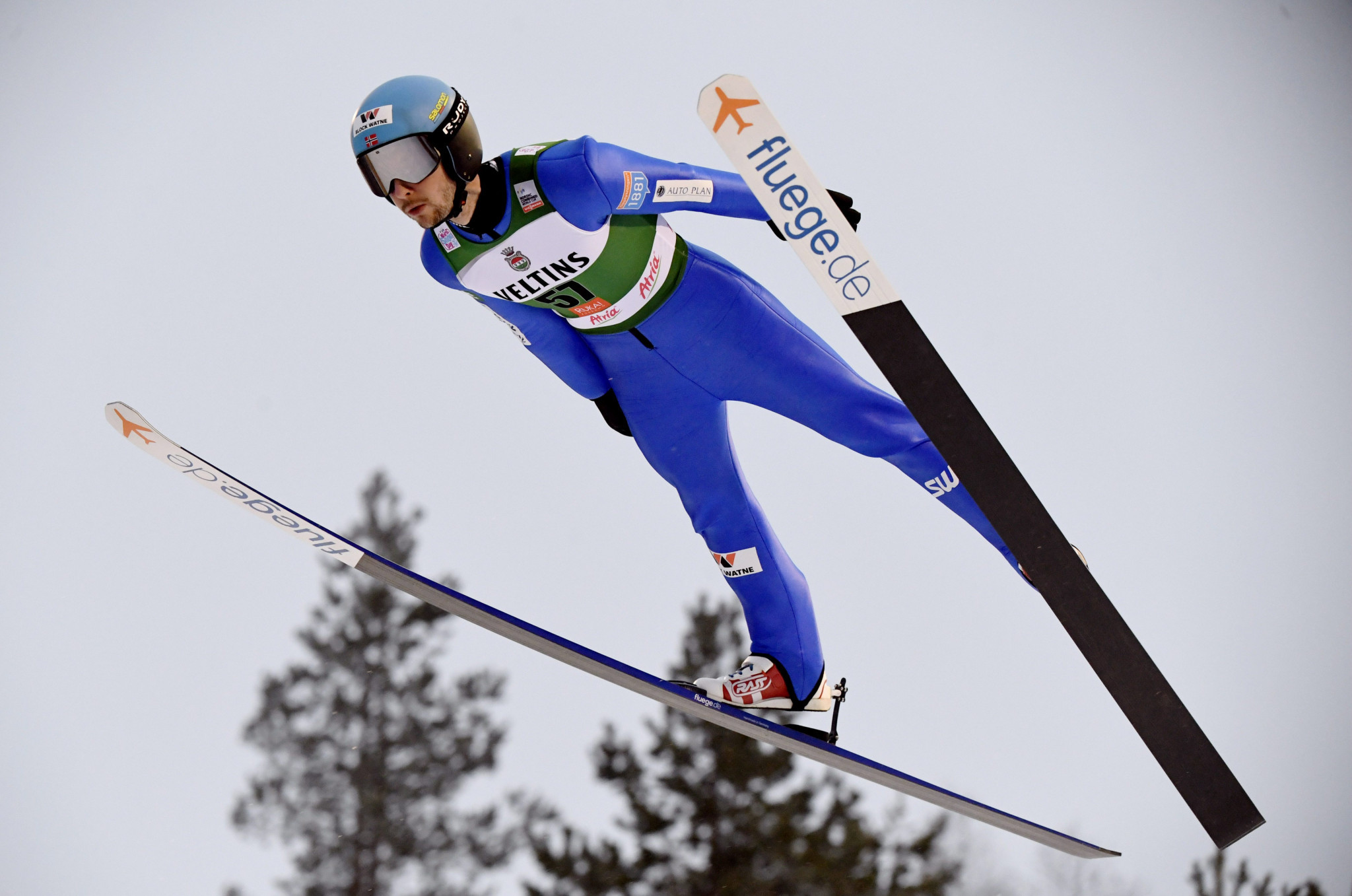 Norwegian duo hold off German challenge in FIS Nordic Combined World Cup team sprint in Val di Fiemme