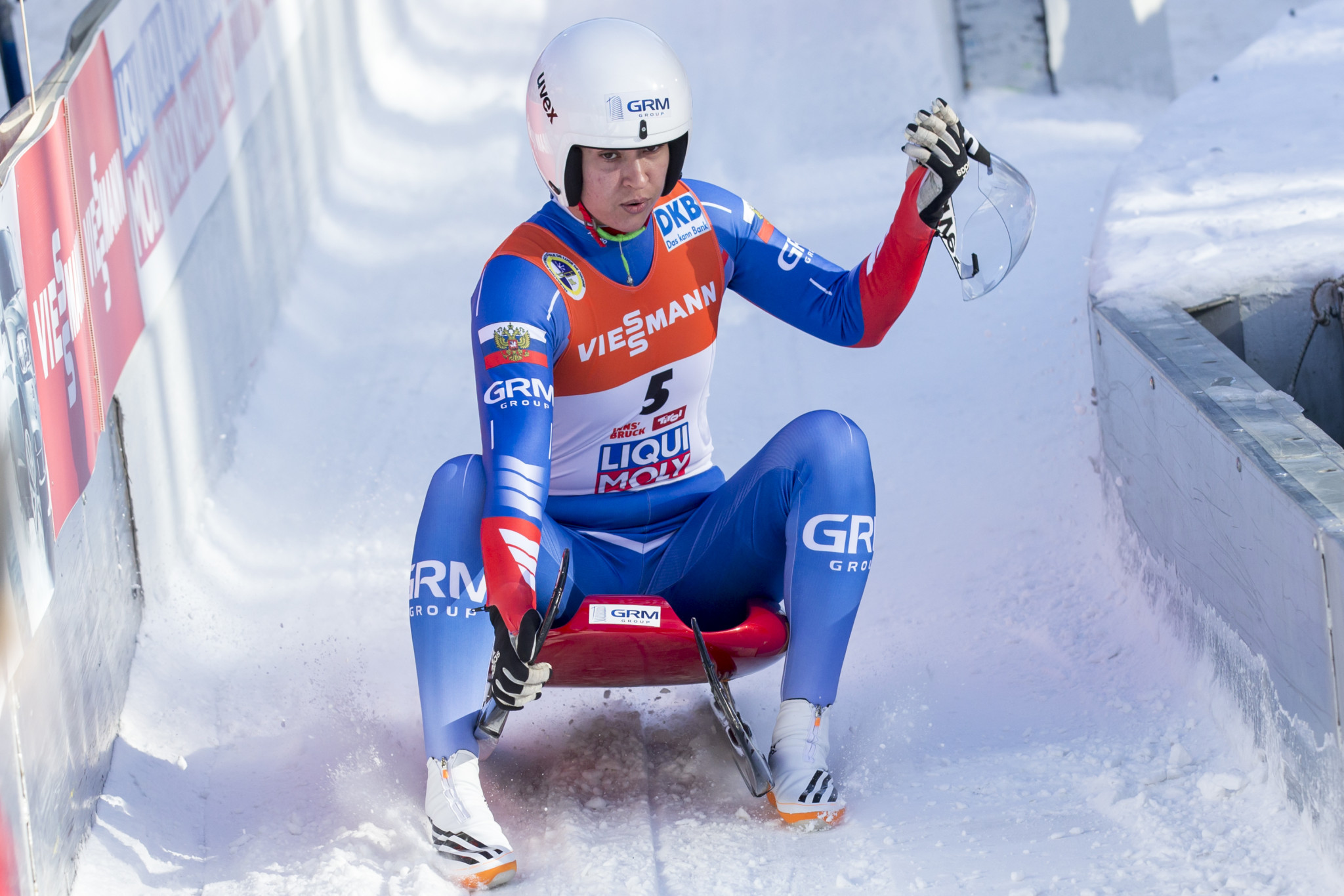 Russian at heart of doping crisis wins FIL World Cup in Sigulda
