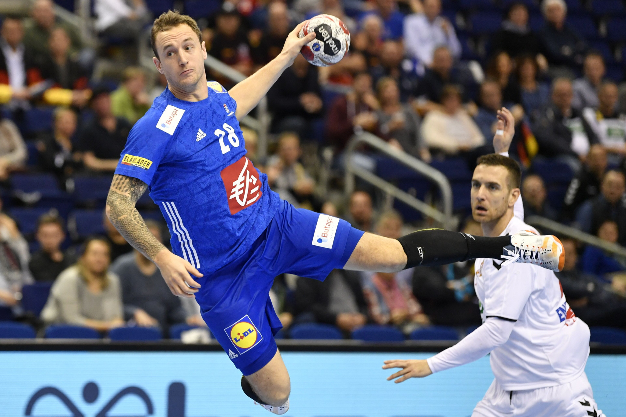 Defending champions France defeated Serbia 32-21 in the Group A clash at the IHF Men's Handball World Championship ©Getty Images