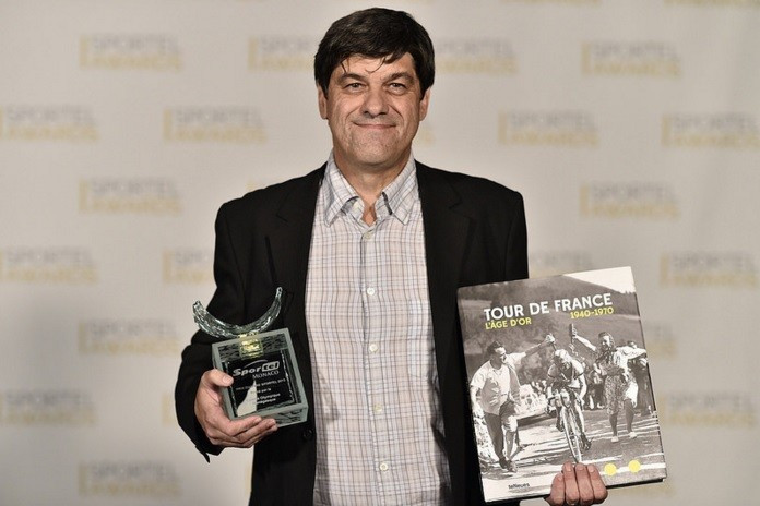 Jean-Luc Gatellier's Tour de France: The Golden Age 1940s-1970s was one of two laureates awarded in the Sports Book Competition ©SPORTEL