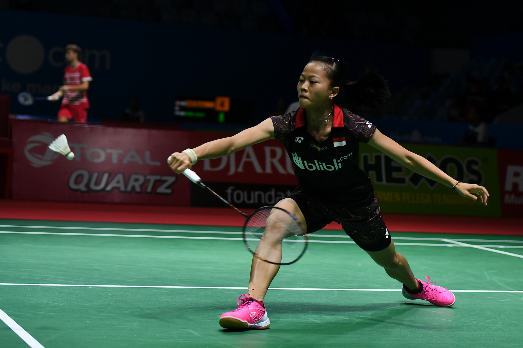 Indonesia's Fitriani won the women's final in Bangkok ©Getty Images