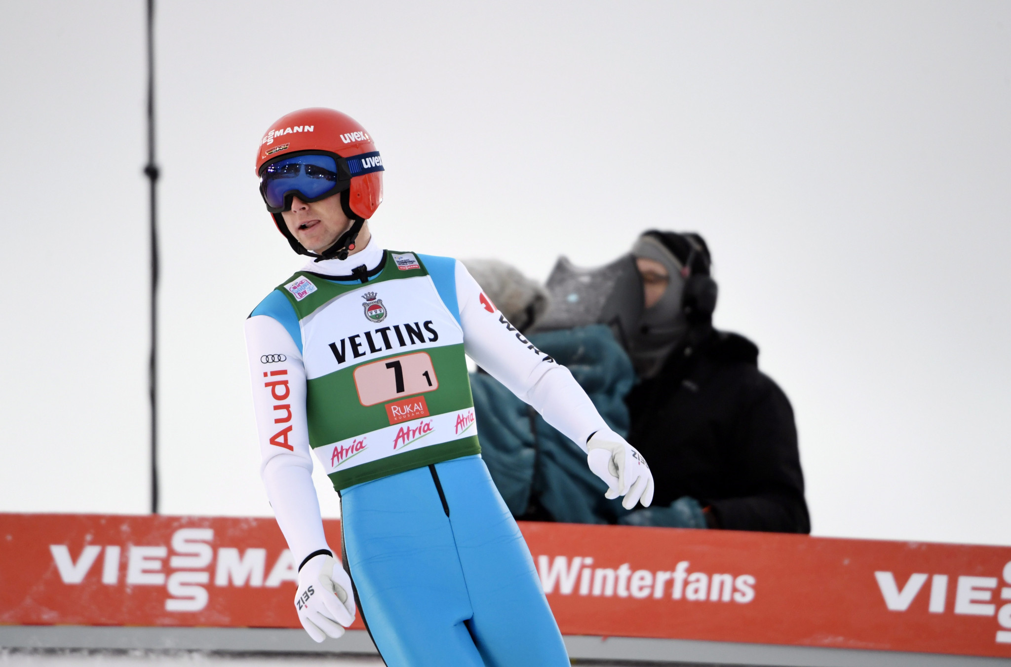Geiger claims maiden Nordic Combined World Cup win in Val di Fiemme
