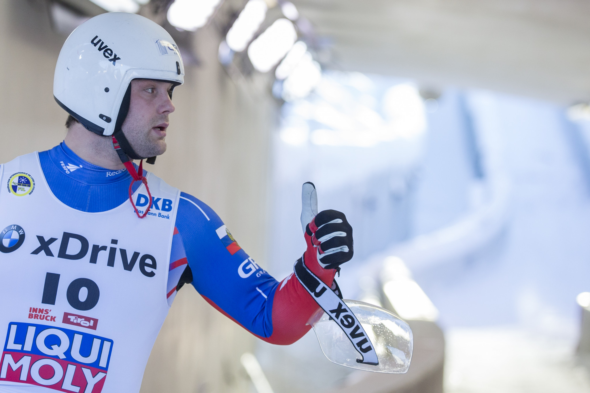 Pavlichenko secures first Luge World Cup win of the season in Sigulda
