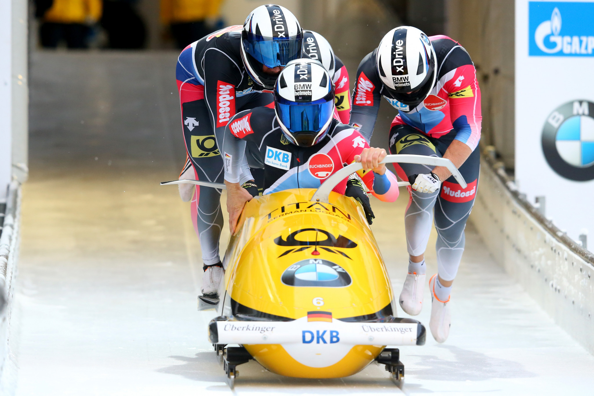 Germany claim third European gold with four-man bobsleigh victory at IBSF World Cup in Königssee