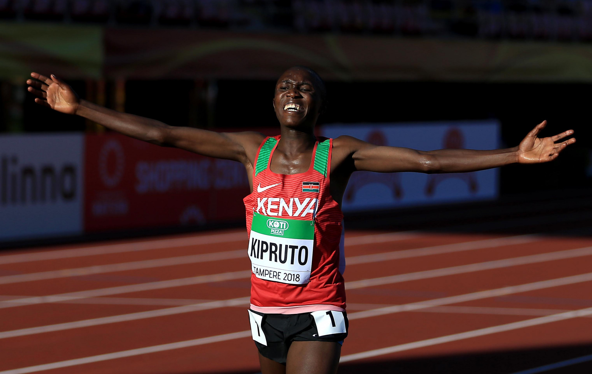 Rhonex Kipruto has won the men's race at the IAAF Cross Country Permit event in Elgoibar in Spain by a comfortable margin ©Getty Images