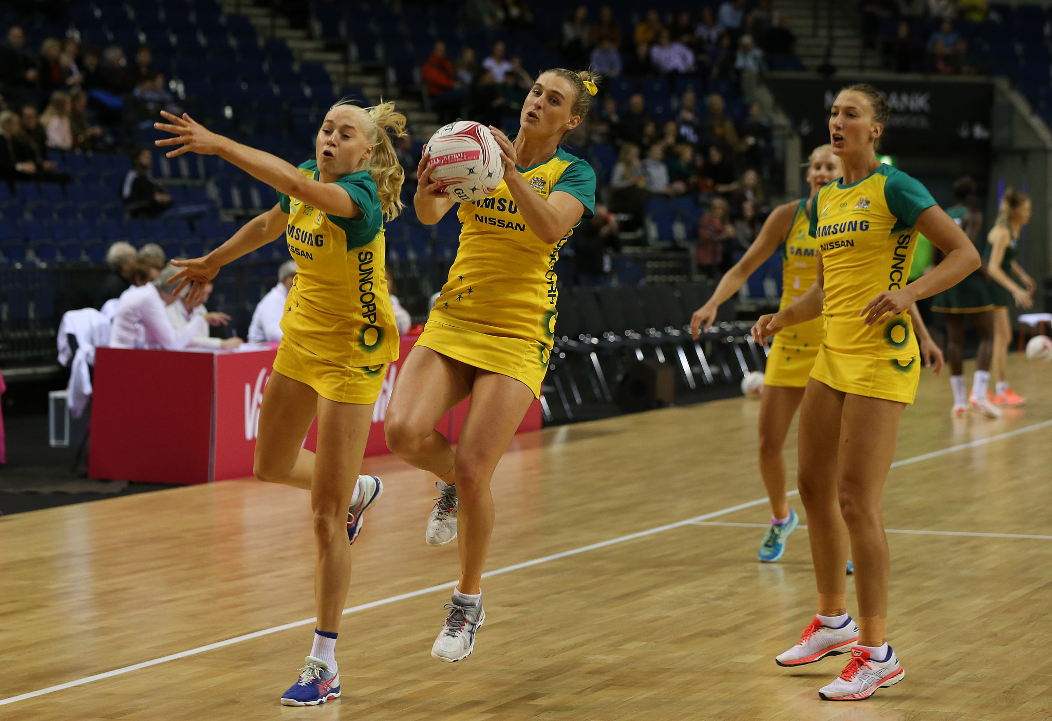 England and Australia get off to winning starts in Netball Quad Series