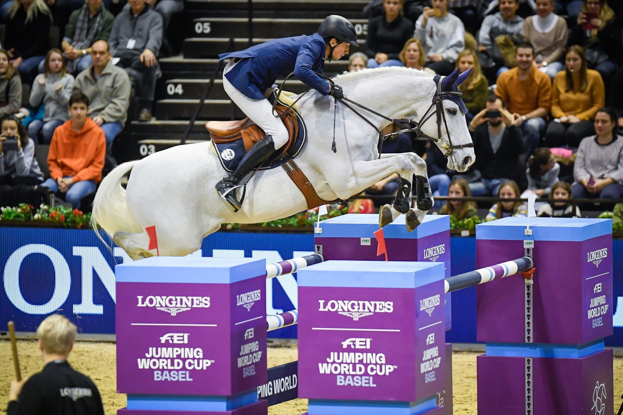 Fuchs secures home victory at FEI Jumping World Cup in Basel