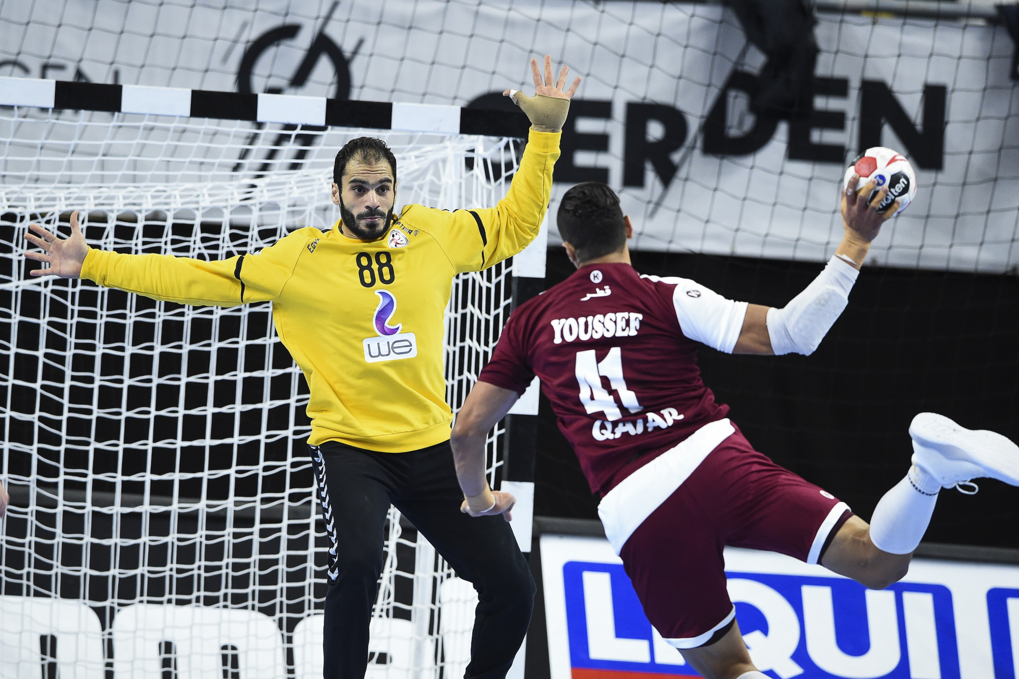 Qatar recovered from a shock defeat to Angola to beat Egypt at the IHF Men's Handball World Championships ©Getty Images