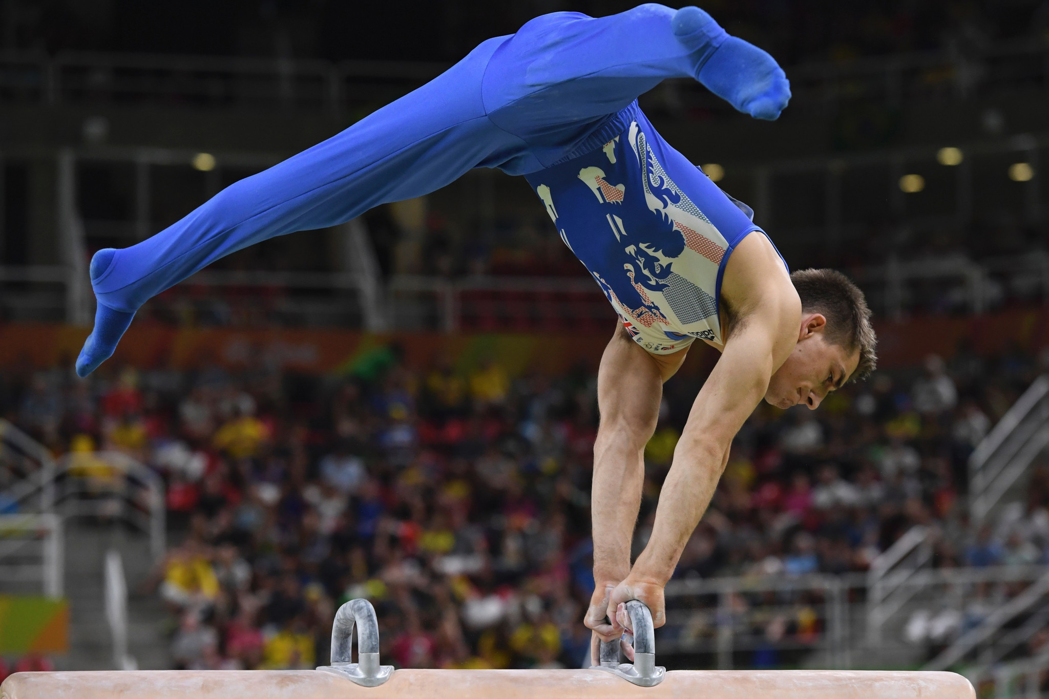 Gymnastics is in the top tier of Olympic sports ©Getty Images