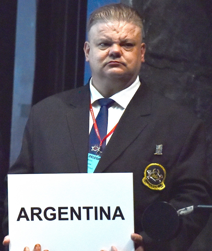 Pastelnik elected President of Argentine Bodybuilding Federation