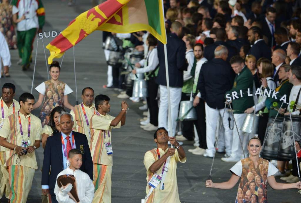 Sri Lankan officials have promised to make changes to avoid a possible suspension from the IOC ©AFP/Getty Images