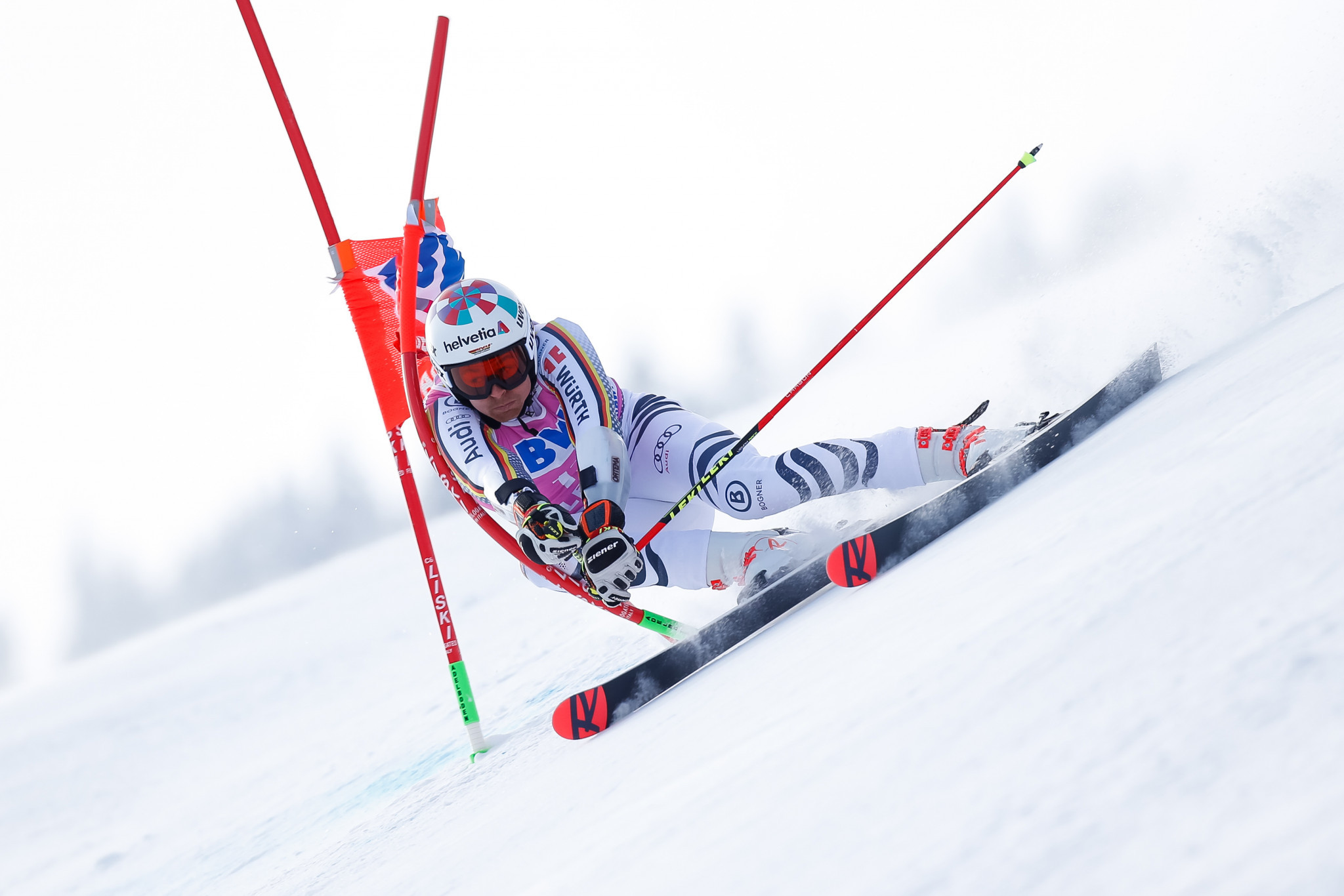 The loss of the initial appeal meant the 100 points awarded for a World Cup win were not included in Stefan Luitz's total, impacting his start position in Adelboden ©Getty Images