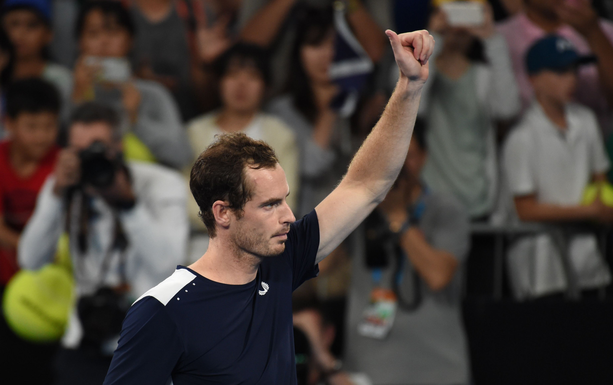 Murray bids potential farewell to Australian Open with defeat in five-set thriller