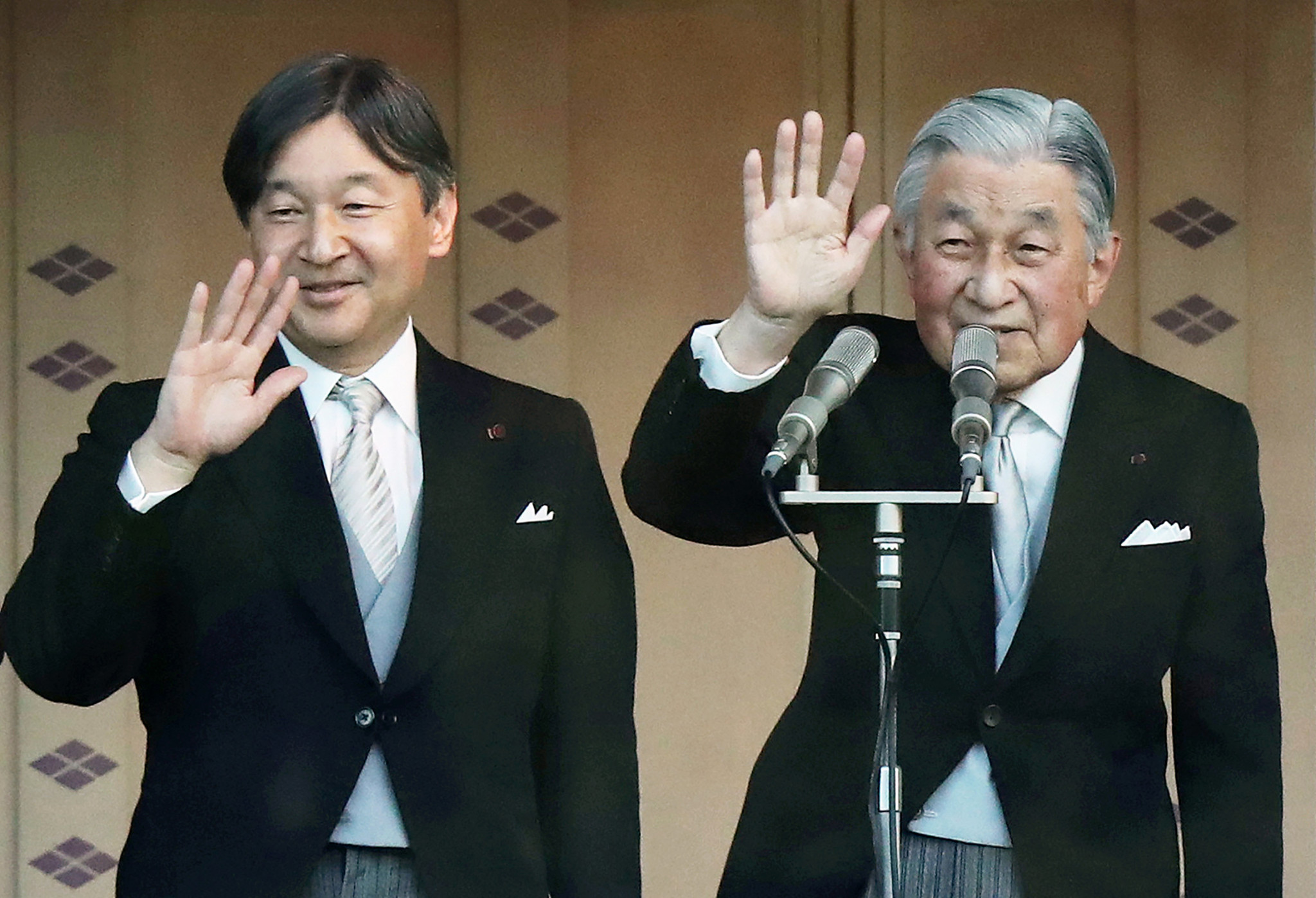 Crown Prince Naruhito will succeed Emperor Akihito on May 1 ©Getty Images