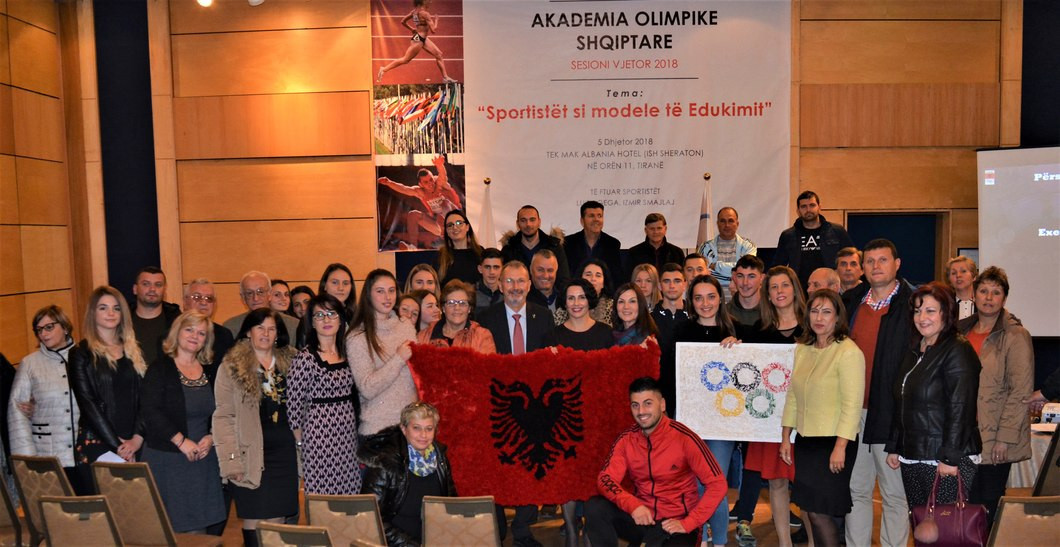 Albanian Olympic Committee hosts athlete role model session