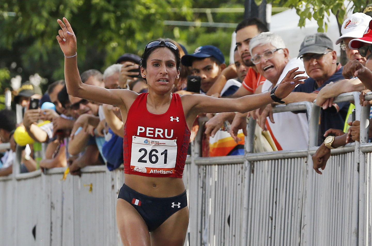 Gladys Tejeda won the Pan American marathon title at Toronto 2015 but was then disqualified after testing positive for a banned diuretic ©Getty Images