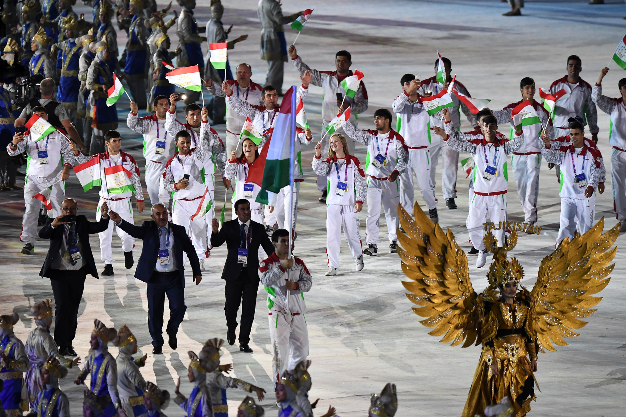 The National Olympic Committee of Tajikistan claim they will hold 1,200 seminars to increase awareness among athletes ©Getty Images