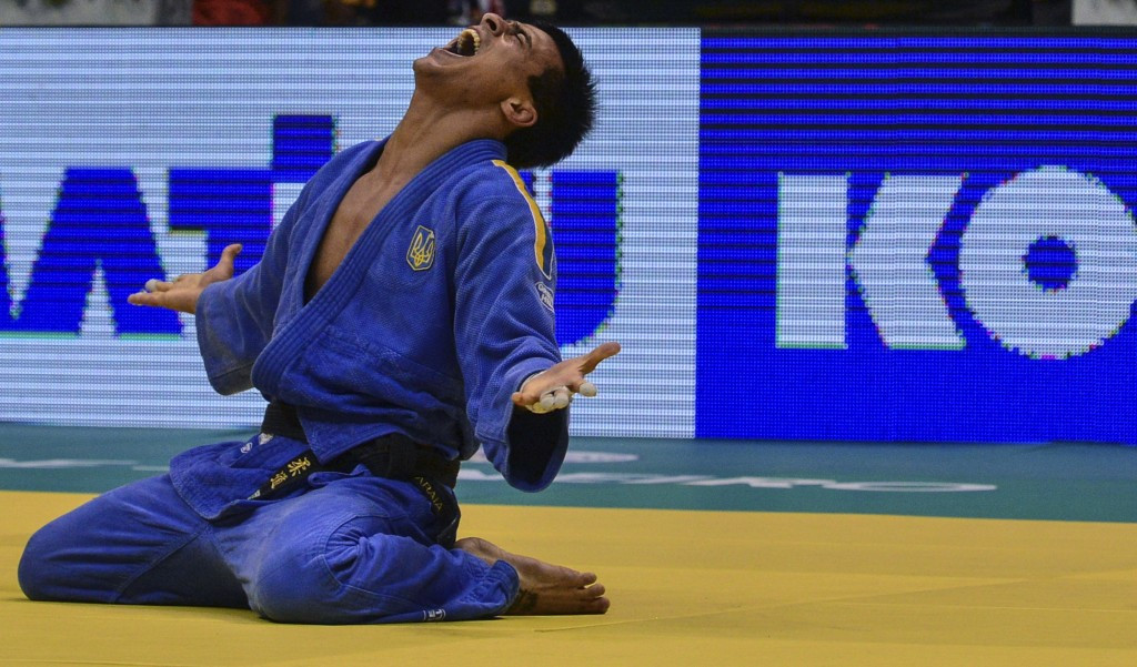 Georgii Zantaraia proved too strong for the opposition in the men's under 66kg category ©Getty Images