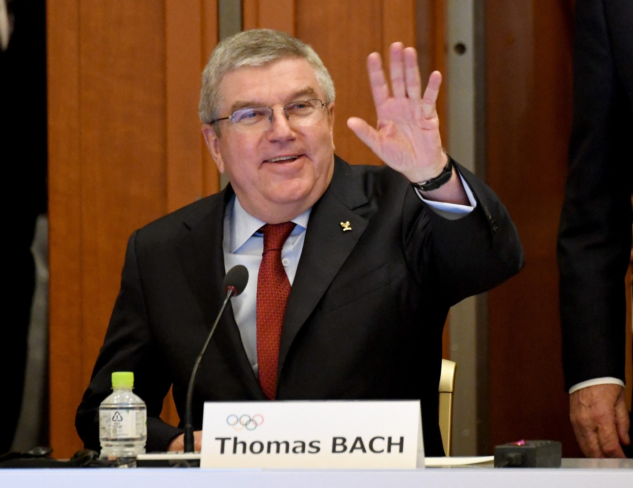 IOC President Thomas Bach has spoken of the supposed strength of the two remaining candidates ©Getty Images