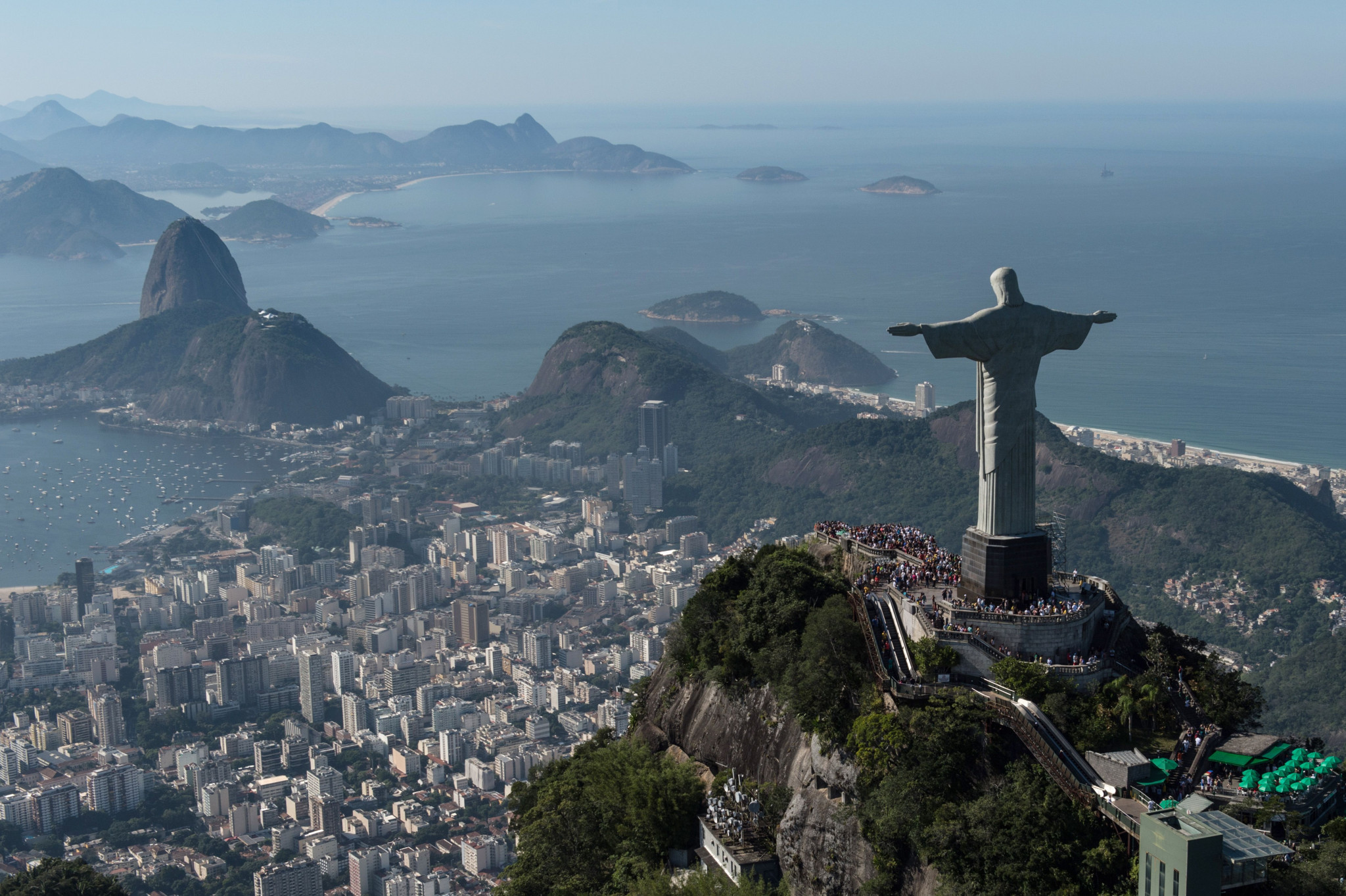 The new paper is said to confirm the conclusions of previous research in Brazil that attested to the economic benefits of the Olympics in Rio de Janeiro ©Getty Images