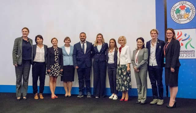 The IJF hosted its inaugural conference on gender equity in September 2018 ©IJF
