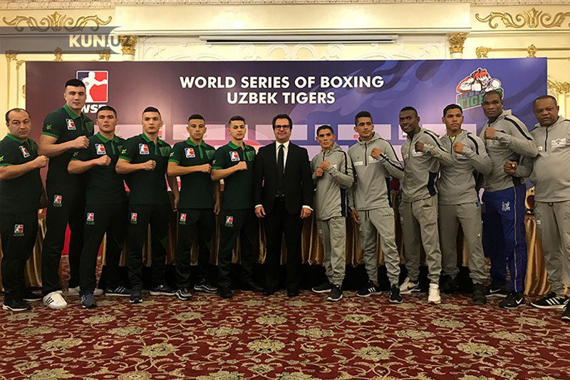 The Uzbek Tigers have competed in the World Series of Boxing for the past three seasons ©Uzbek Tigers/Twitter