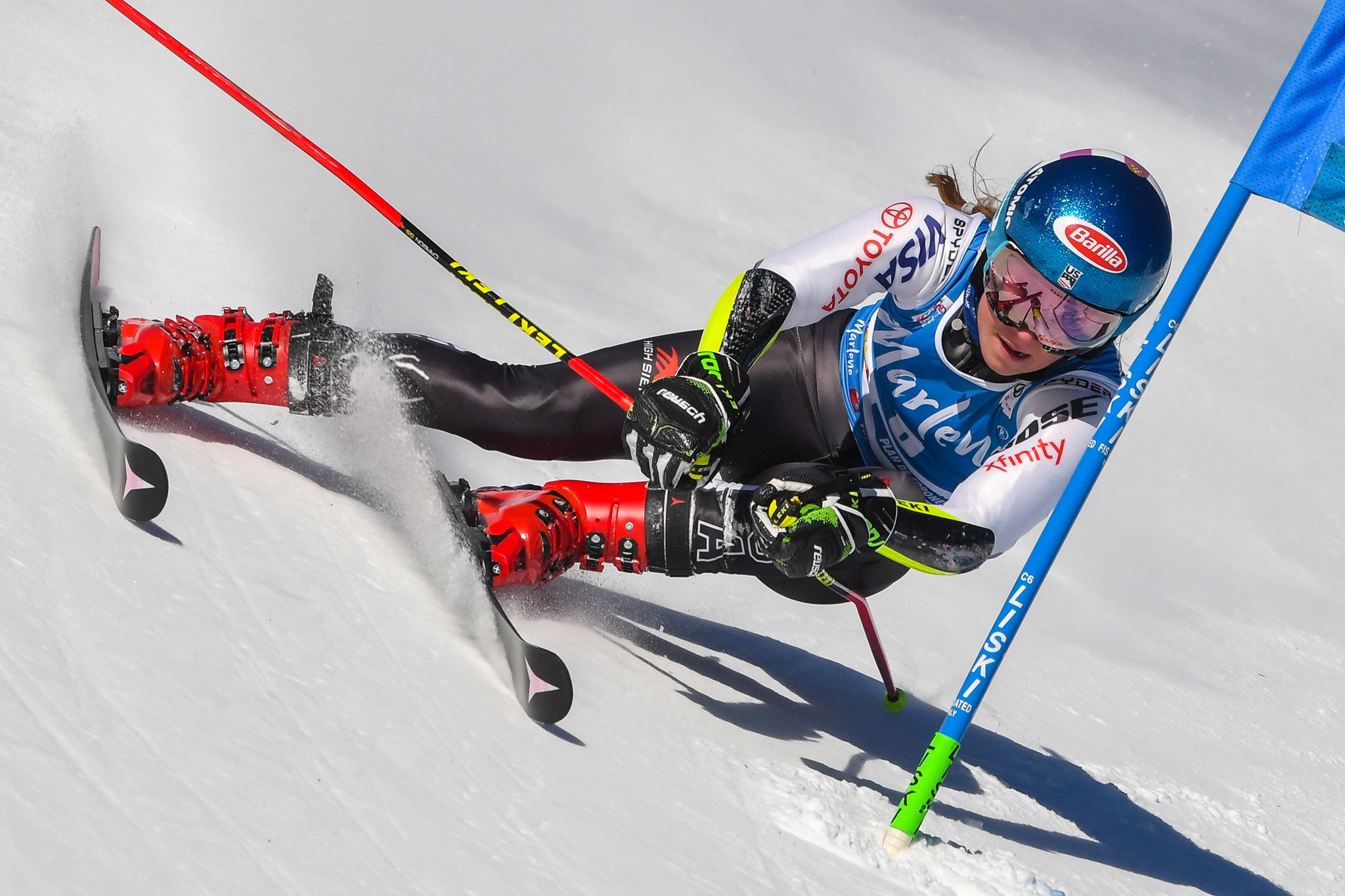 Mikaela Shiffrin converted her considerable first run lead to claim her 53rd World Cup victory ©Getty Images