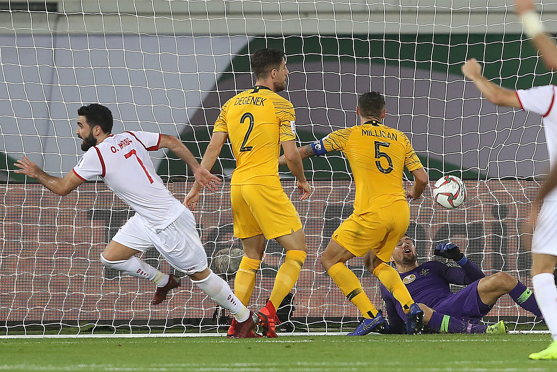 Syria twice equalised before they were subjected to last-minute heartbreak ©Getty Images