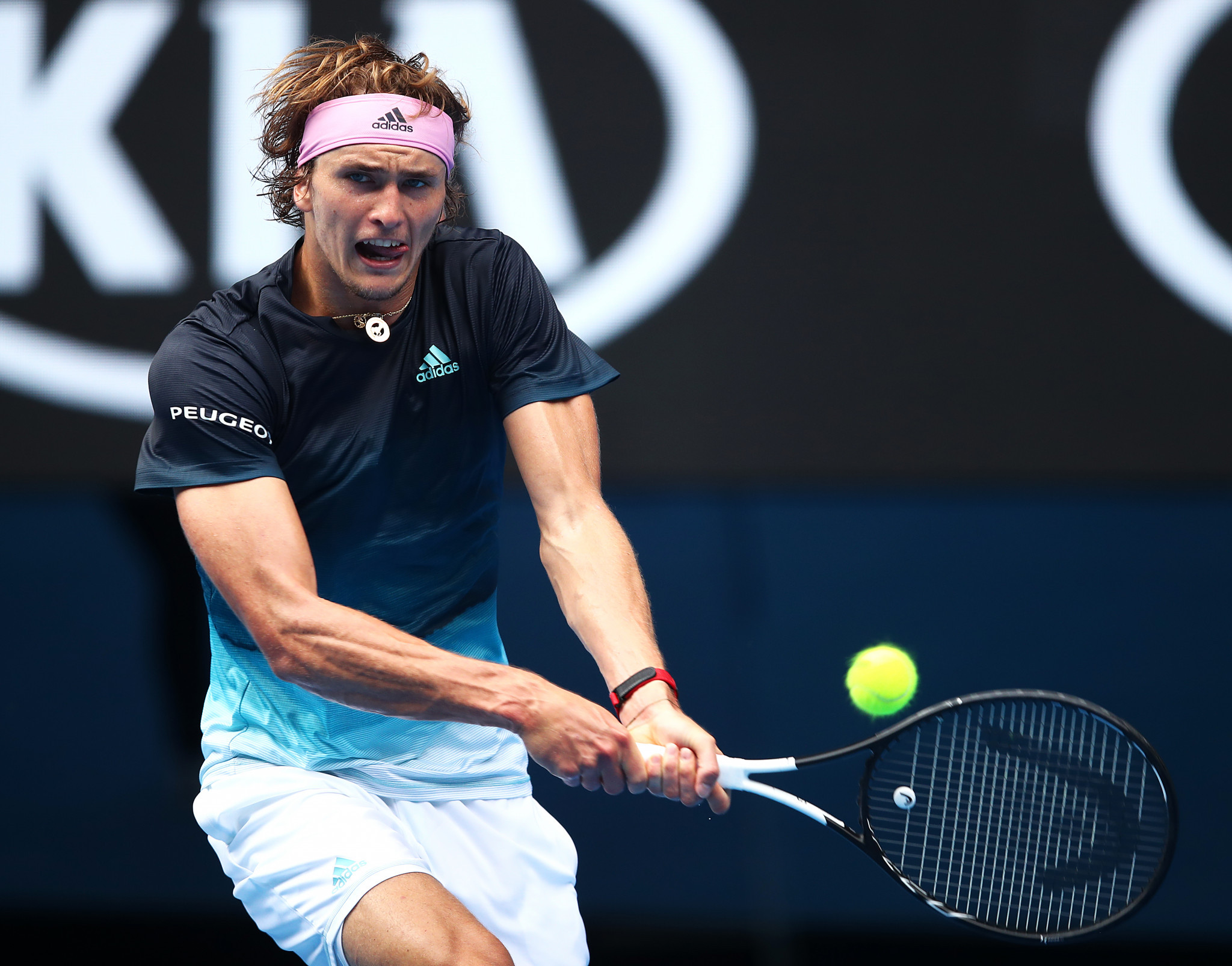 Alexander Zverev won impressively as he pursues a maiden Grand Slam title ©Getty Images