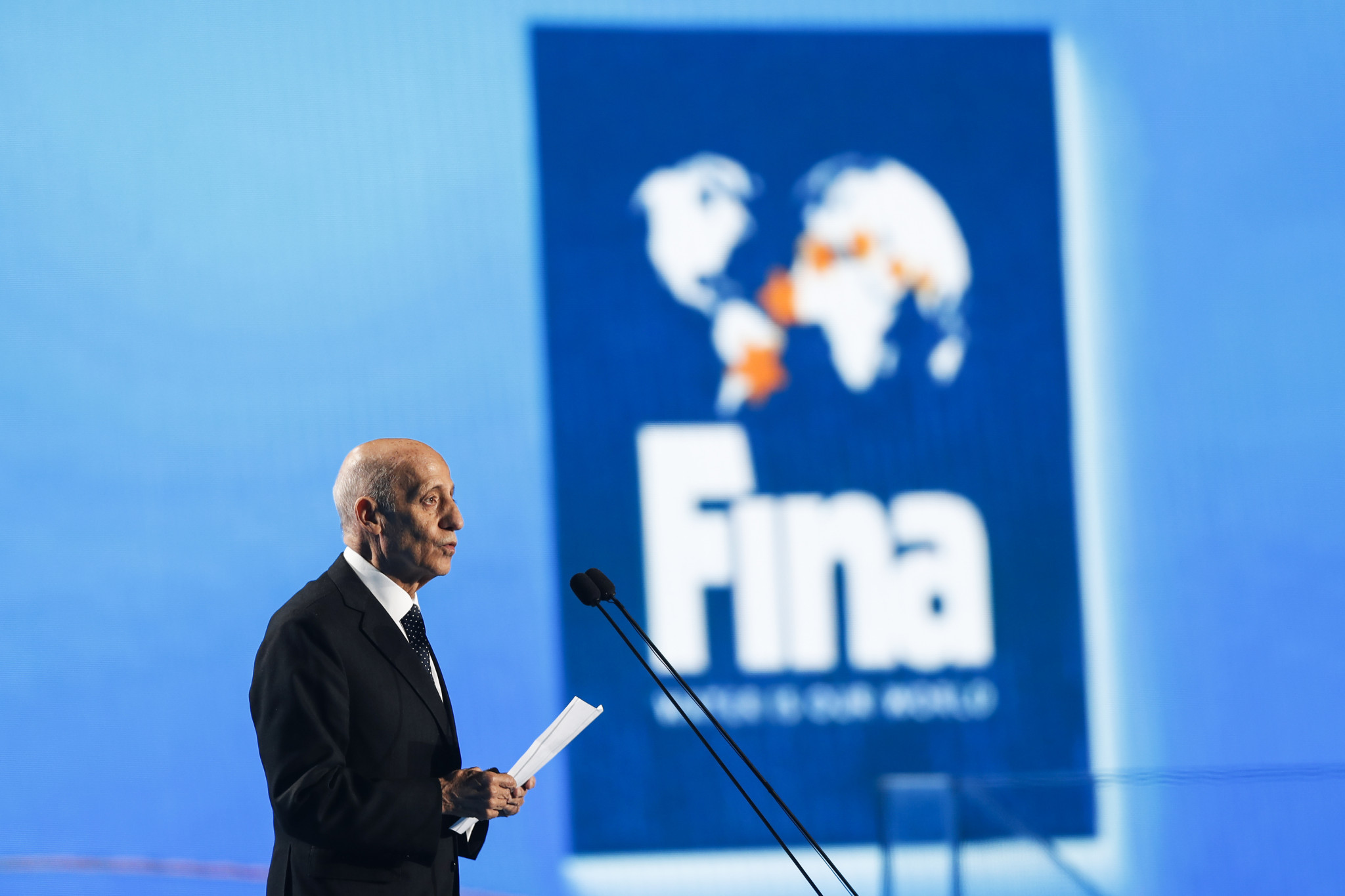 FINA reiterate that athletes who compete at independent events will not face bans amid dispute with ISL