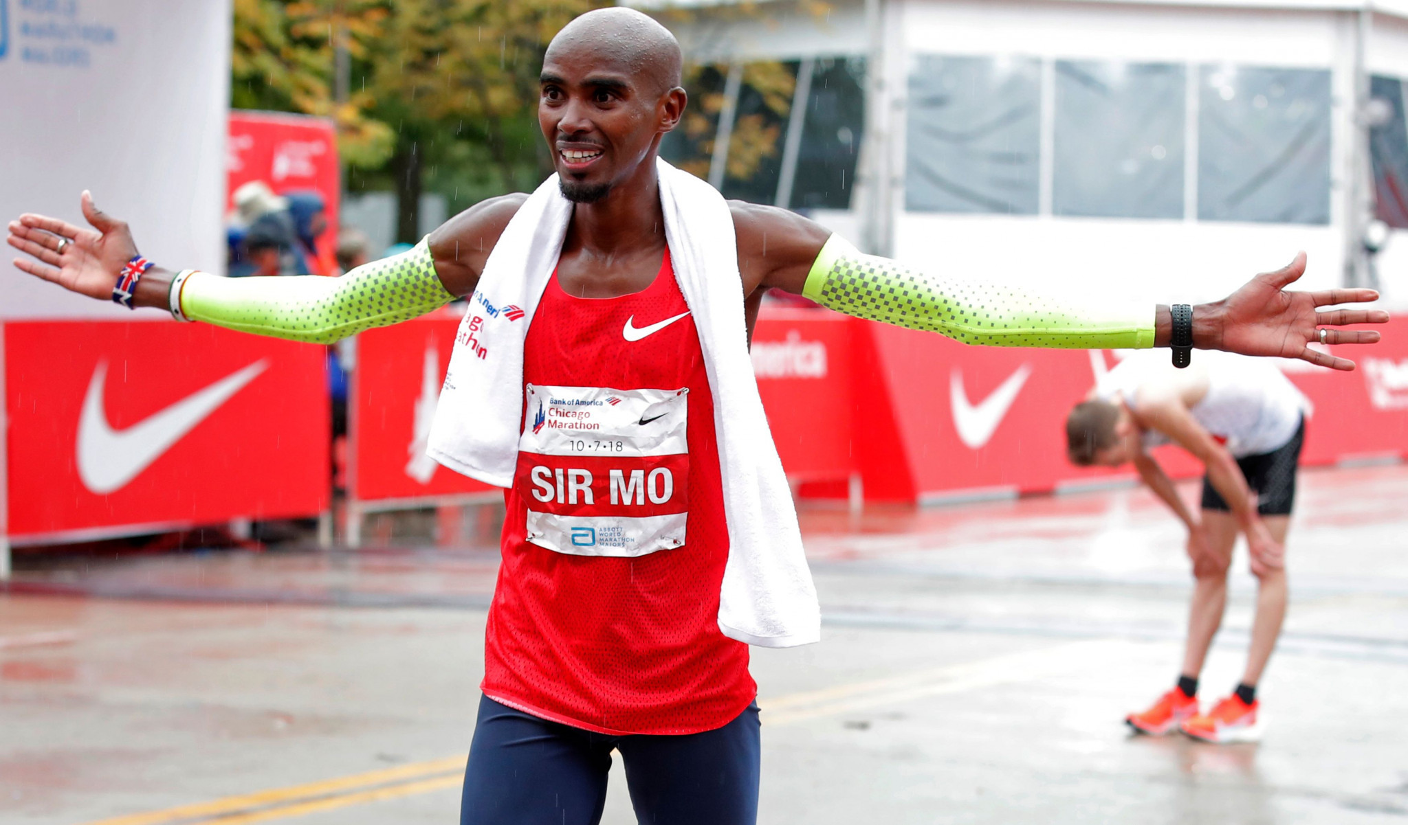 Mo Farah will hope to earn a maiden London Marathon title ©Getty Images