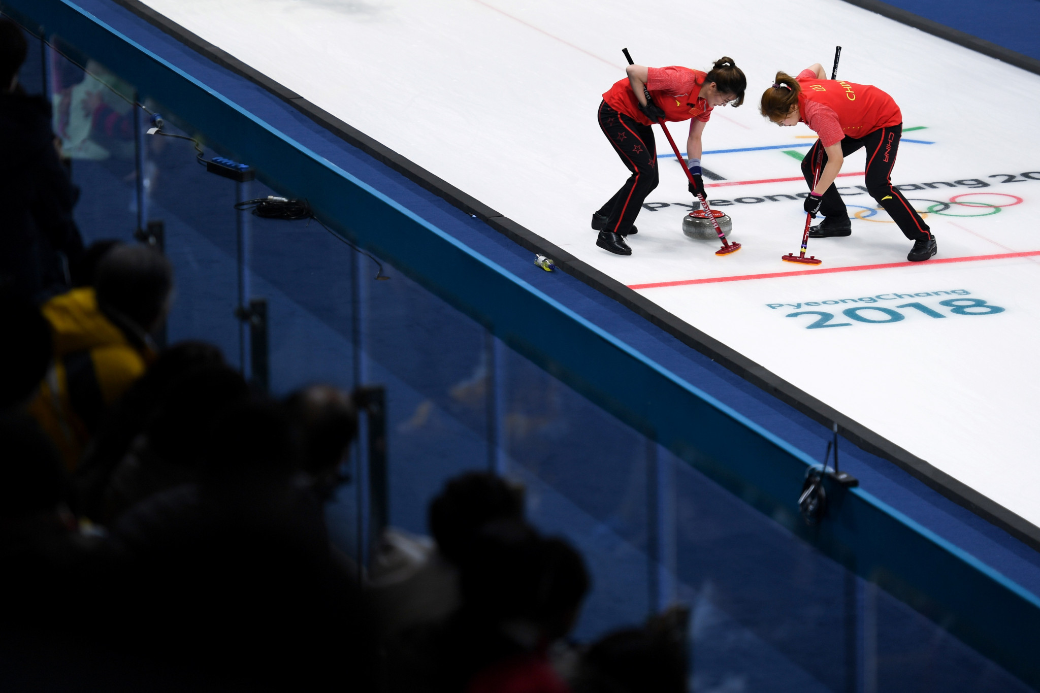 Curling players were among those to meet the Chinese vice-premier this week ©Getty Images