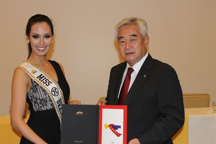 Miss World Brazil named as World Taekwondo Federation goodwill ambassador