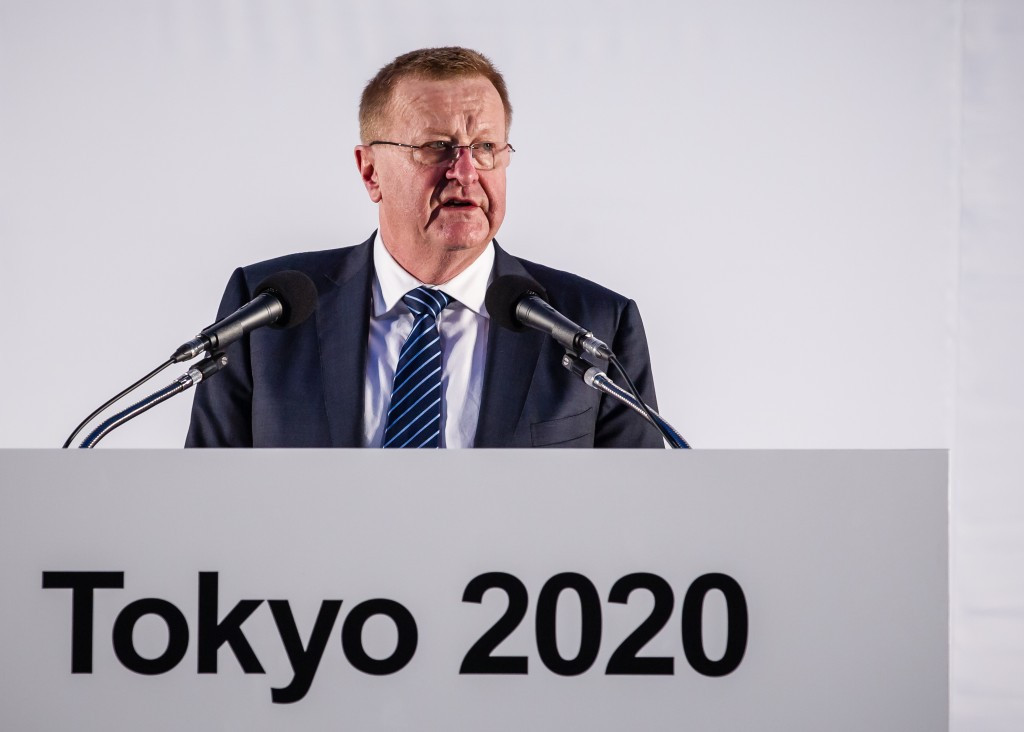 John Coates is impressed with how things are progressing in Tokyo ©Getty Images