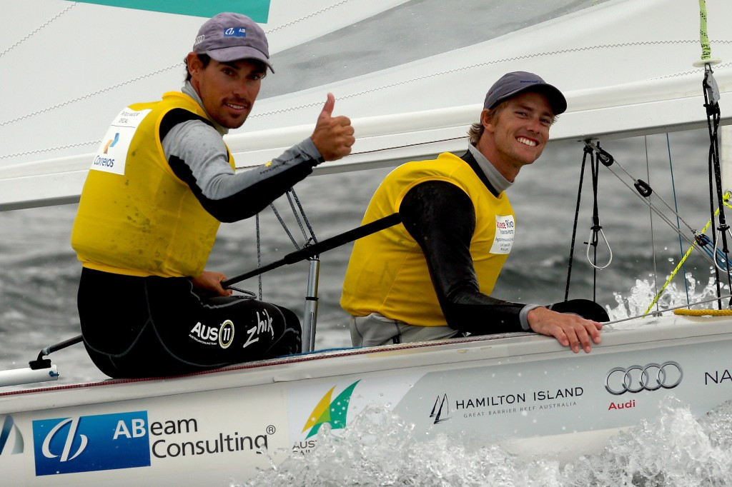 Holders Belcher and Ryan continue to dominate ISAF 470 World Championships