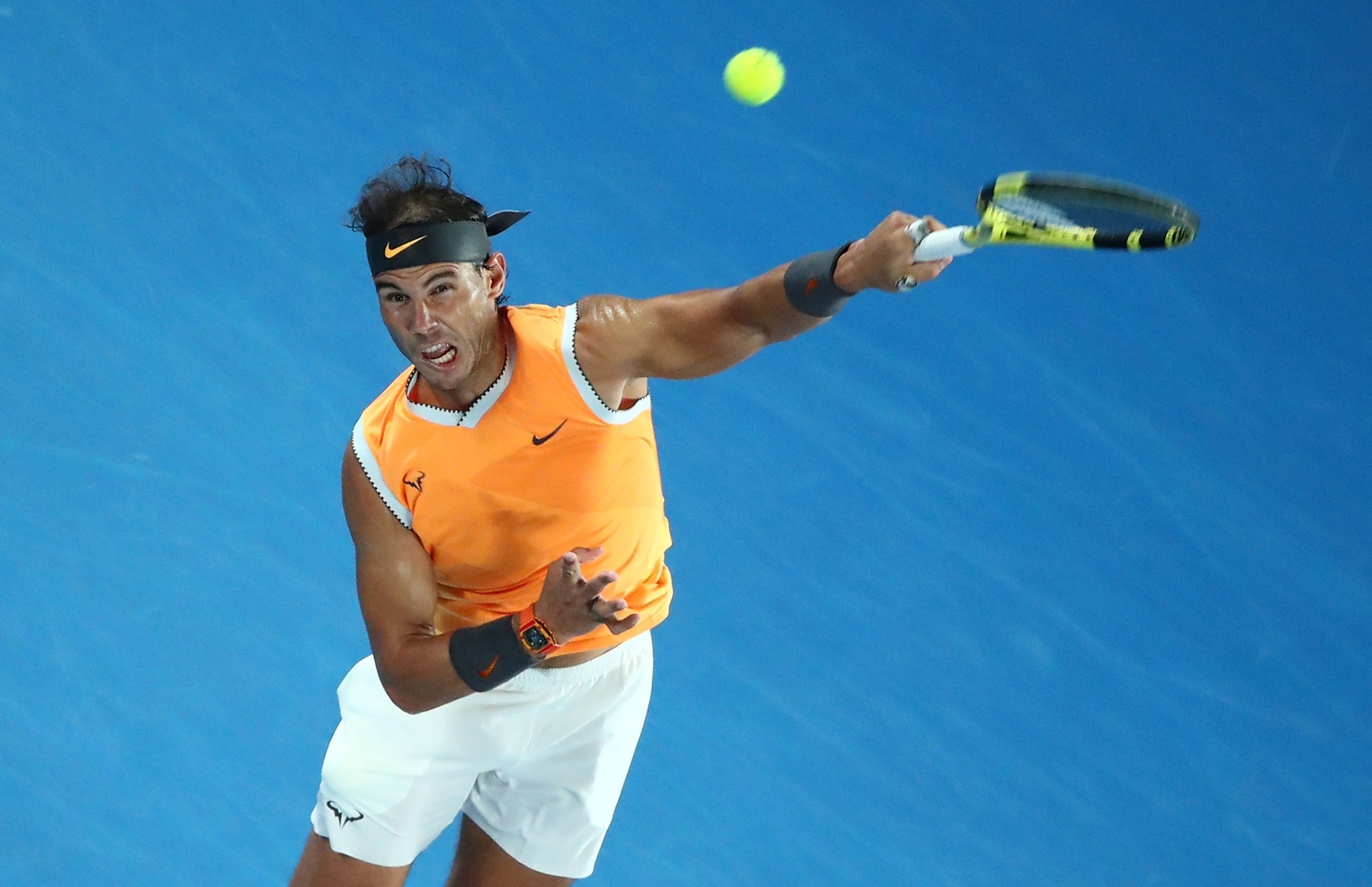 Rafael Nadal was among the other seeds to progress on day three ©Getty Images