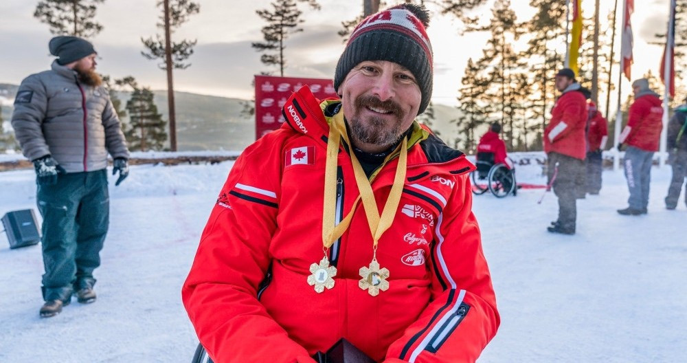 Bissonnette takes lead in IBSF Para Sport World Cup rankings after two wins in Lillehammer