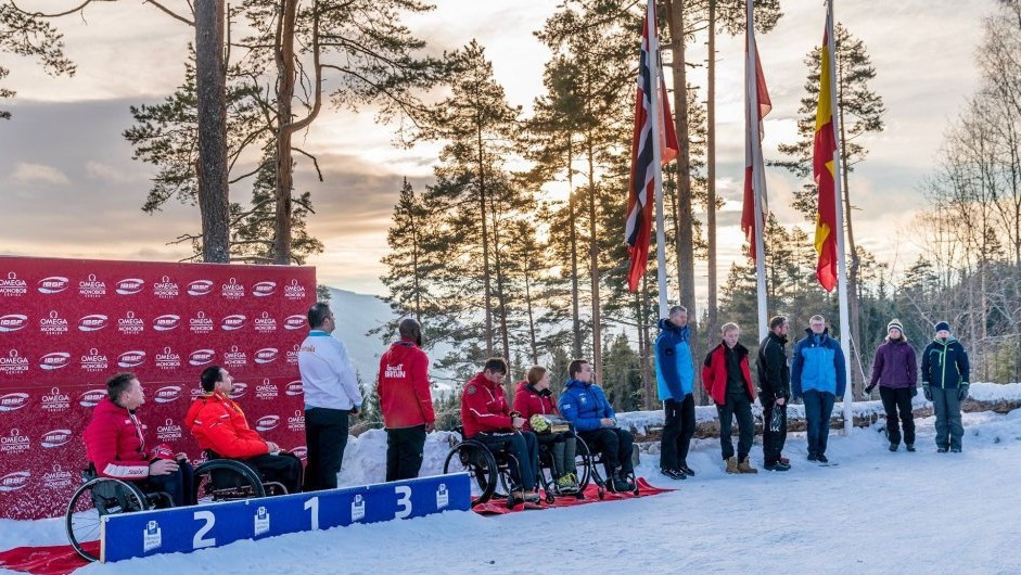 Canada's Lonnie Bissonnette won both IBSF Para Sport World Cup races in Lillehammer to take the lead in the overall standings ©IBSF
