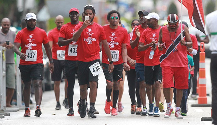 Trinidad and Tobago Olympic Committee aim to raise funds through marathon