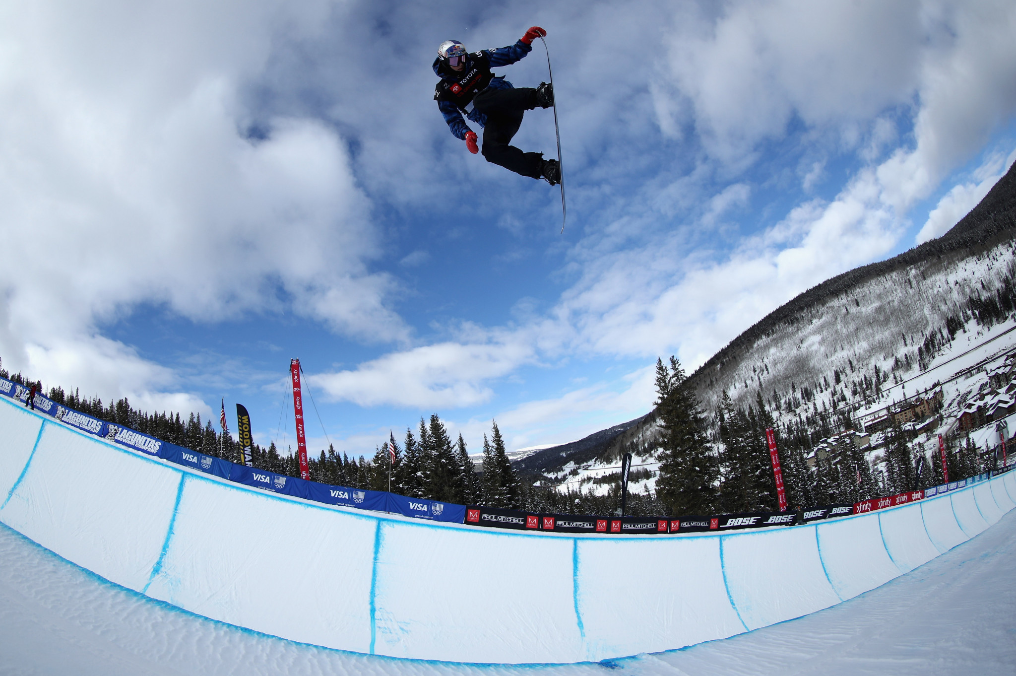 Australia's Scotty James was the stand-out performer in the men's halfpipe qualification round ©Getty Images