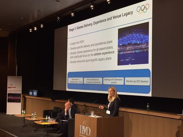 Involvement of the TOP programme in the 2024 process was explained by the IOC today ©Twitter