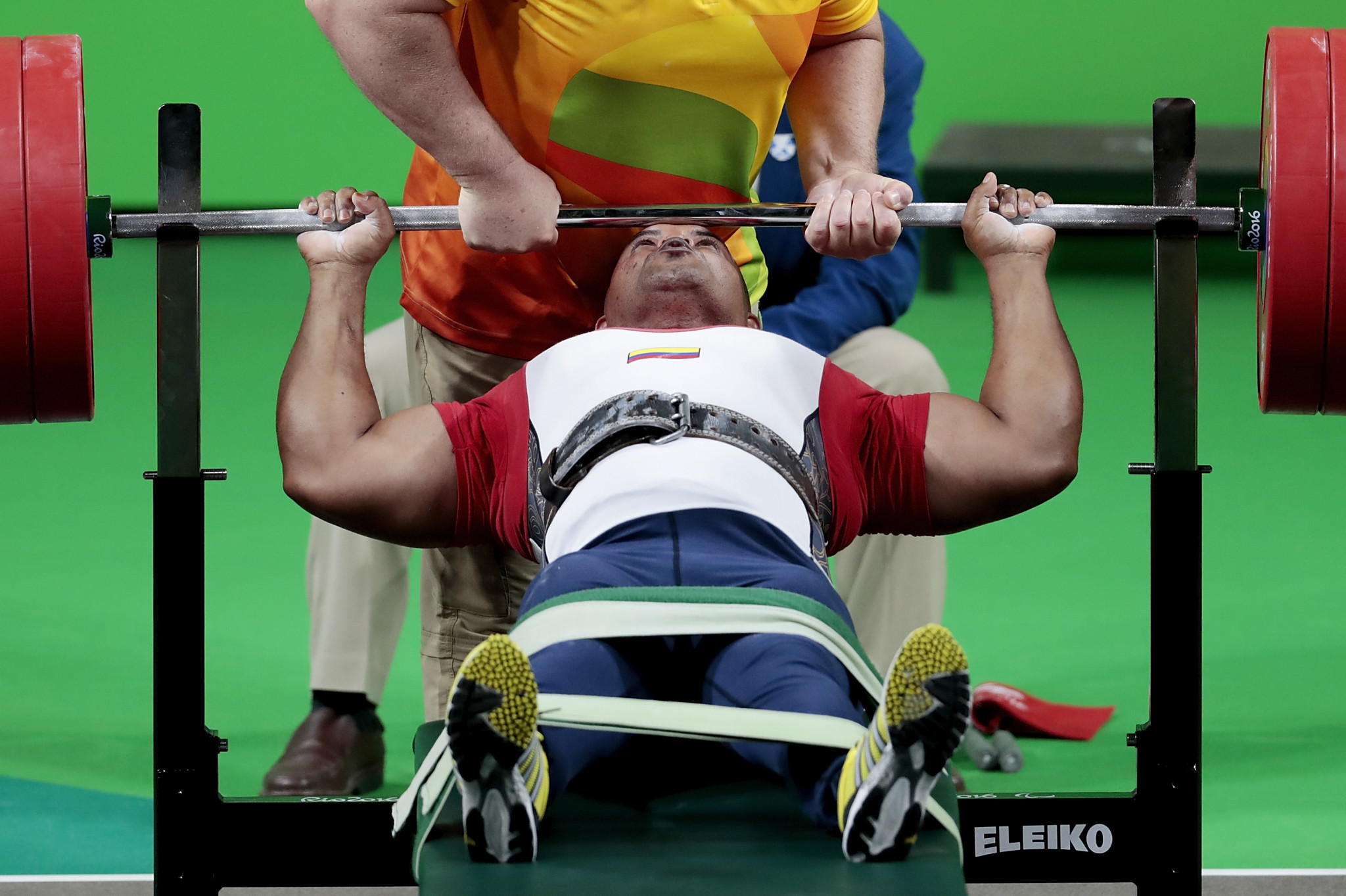 Colombian powerlifter Fabio Torres has been named as the Americas Paralympic Committee Athlete of the Month for December ©Getty Images